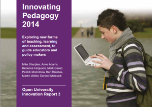 innovatingPedagogy
