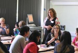 Victoria Jack Facilitates Workshop