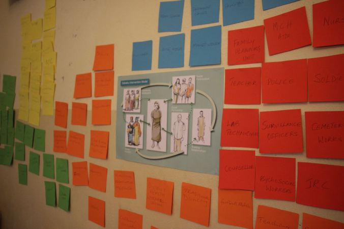Using the Sababu Model to teach community mapping, a key social intervention strategy