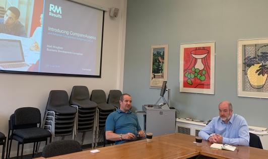 Scott Slorach and Matt Wingfield presenting.